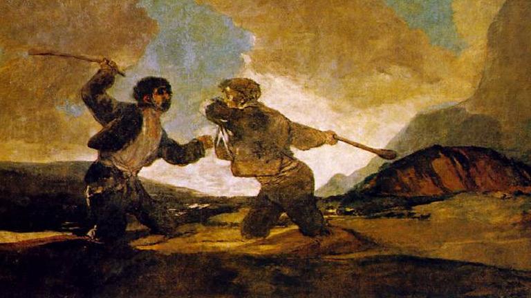 Pinturas negras, Goya