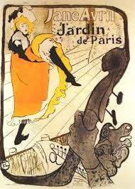 Henri Toulouse-Lautrec Jane Avril au Jardin de Paris, 1893_