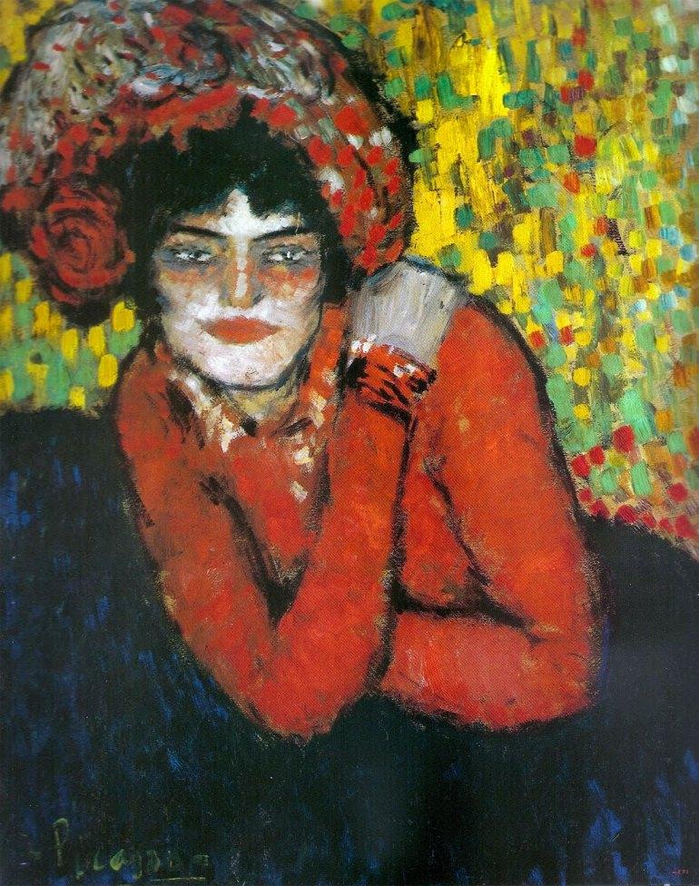 La espera, (Margot) Picasso