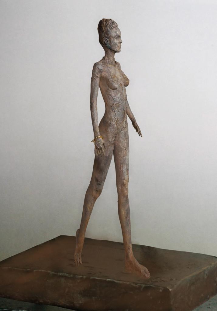 carolina verd escultura de bronce