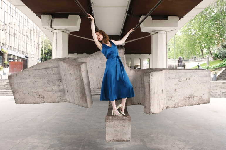 2 Carolina Verd en el Museo al Aire Libre de Madrid
