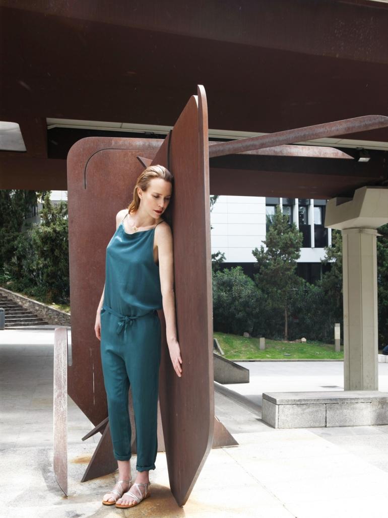 3 Carolina Verd en el Museo al Aire Libre de Madrid